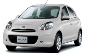 Category B | 300.00 € per month | Nissan Micra or similar